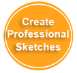 Create Professional Fashion Sketches and Clothing Designs