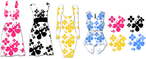 DFP Fashion Design Software for Designing Your Own Dresses