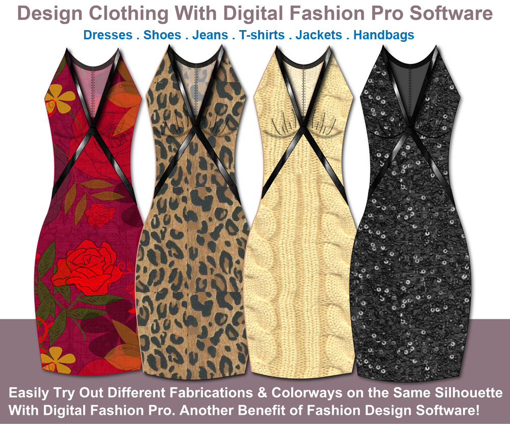 Design your own dresses, be a fashion designer