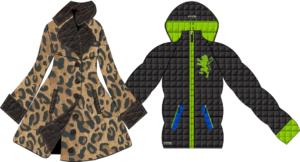 Designer Coat created with Digital Fashion Pro