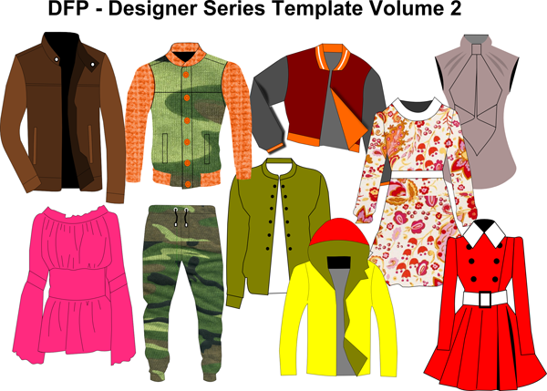 Designer Series Volume 2 - fashion designer styles