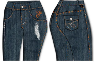 Designing Denim Jeans with Digital Fashion Pro