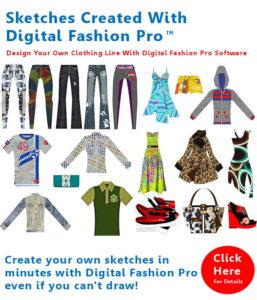 Digital Fashion Pro Fashion Design Software System