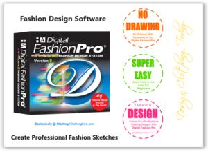 Digital Fashion Pro - fashion design software