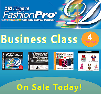 Digital Fashion Pro Business Class Edition - Fashion Design Software