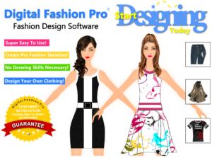 Digital Fashion Pro Fashion Design Software - create fashion sketches - design your own clothing