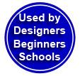Digital Fashion Pro Fashion Design Software is used by Schools - Fashion Designers - Beginners Worldwide