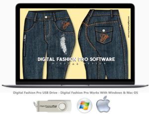 Digital Fashion Pro Version 8 On Computer