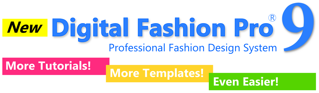 Digital Fashion Pro 9 - Fashion Design Software - ultimate fashion designing program