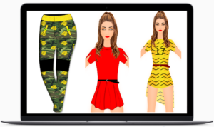 Digital Fashion Pro - fashion designing sketches - 3 fashion drawings