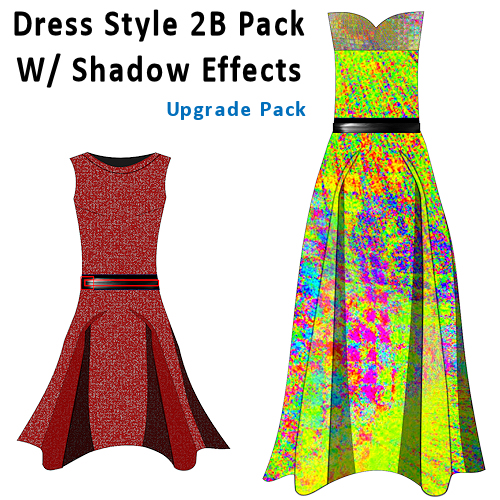 Digital Fashion Pro Dress Style 2B Pack