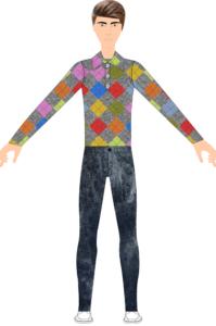 Fashion Sketch - Fashion Design Software - Menswear Fashion Designer