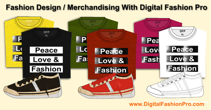 Fashion Merchandising With Digital Fashion Pro
