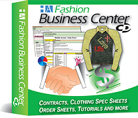 Spec Sheet Templates by Fashion Business Center