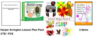 Career and Technology Family and Consumer Sciences Lesson Plan for fashion design