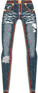 how to design my own jeans - jean fashion drawing sketch
