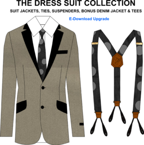 Design Menswear and Womens Suit Jackets