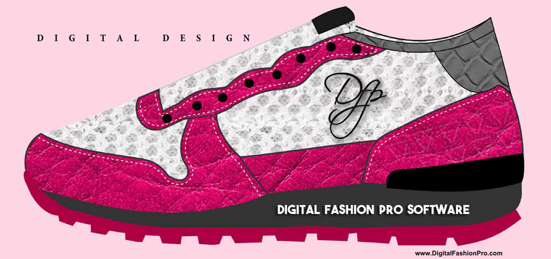 Sneaker Design - Digital Fashion Design Infographic
