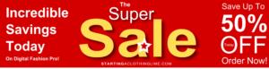 Super Sale on Digital Fashion Pro