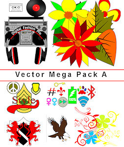 Digital Fashion Pro Mega Vector Art Pack