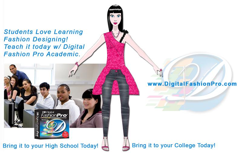 Fashion Design Software for fashion illustration in fashion courses