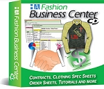 Fashion Business Center - Spec Sheet Templates