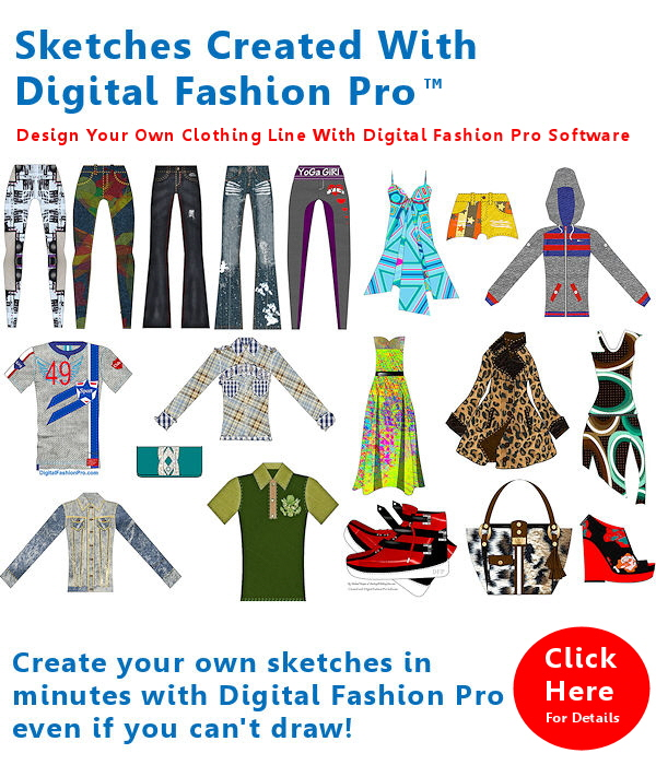 Fashion design software for people who can or can't draw