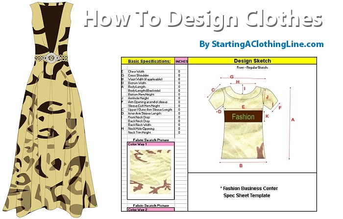 How To Design Your Own Clothing How To Start A Clothing Line
