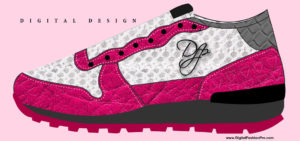 Sneaker Design - Digital Fashion Design Infographic