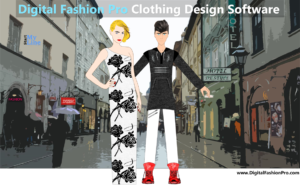 Clothing Design Software - Digital Fashion Pro - design your own clothing