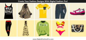 Create your fashion designs with Digital Fashion Pro