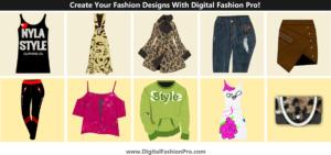 Create your fashion designs with Digital Fashion Pro