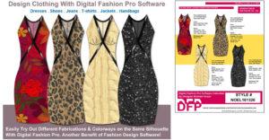 Design your own dress - dress line sheet