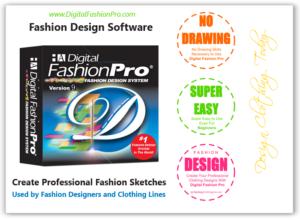 Digital Fashion Pro 9 - Official Fashion Design Software