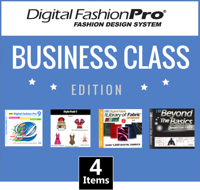 Digital Fashion Pro Business Class Edition Icon - Clothing Design Software - fashion design app