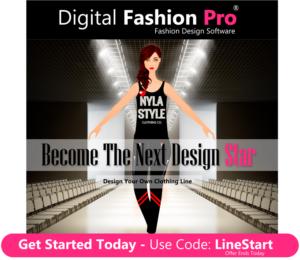 Digital Fashion Pro Clothing Design App - Design your own clothing - next design star