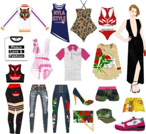 Digital Fashion Pro Clothing design software info sketch graphic