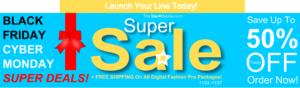 Digital Fashion Pro - Fashion Design Software - clothing design software - 1150- Black Friday Cyber Monday Deals - StartMyLine
