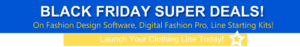 Digital Fashion Pro - Fashion Design Software - clothing design software - 1150A- Black Friday Deals - StartMyLine