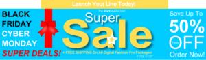 Digital Fashion Pro - Fashion Design Software - clothing design software - 1k-Super Black Friday Cyber Monday Deals - StartMyLine