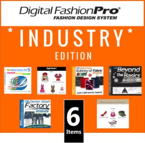 Digital Fashion Pro Industry Edition Icon3 -clothing design software