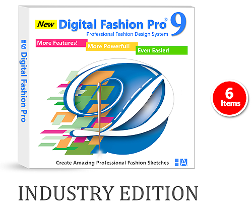 Digital Fashion Pro Industry Edition - For Designing a Professional Clothing Line