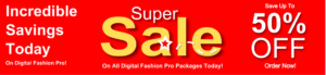 Digital Fashion Pro Software Sale - Official Page