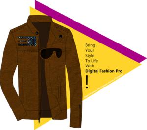 Digital Fashion Pro Suede Jacket Graphic