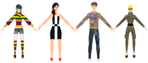 Fashion Design Software - Digital Fashion Pro - best way to design your own clothing - 4models