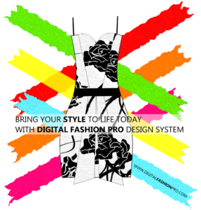 Fashion Design Software - Digital Floral Dress Design
