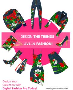 Fashion Magazine - Digital Fashion Pro - Fashion Design Software