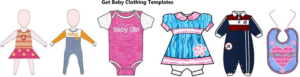 Get Baby Clothing Templates - clothing design software