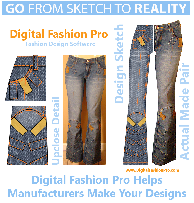 Go From Sketch to Reality with Digital Fashion Pro Fashion Design Software