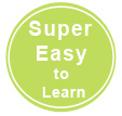 Super Easy To Learn and Use